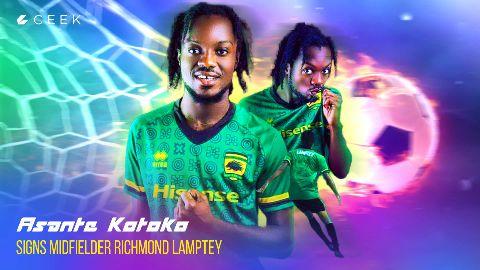 Richmond Lamptey - First Interview video