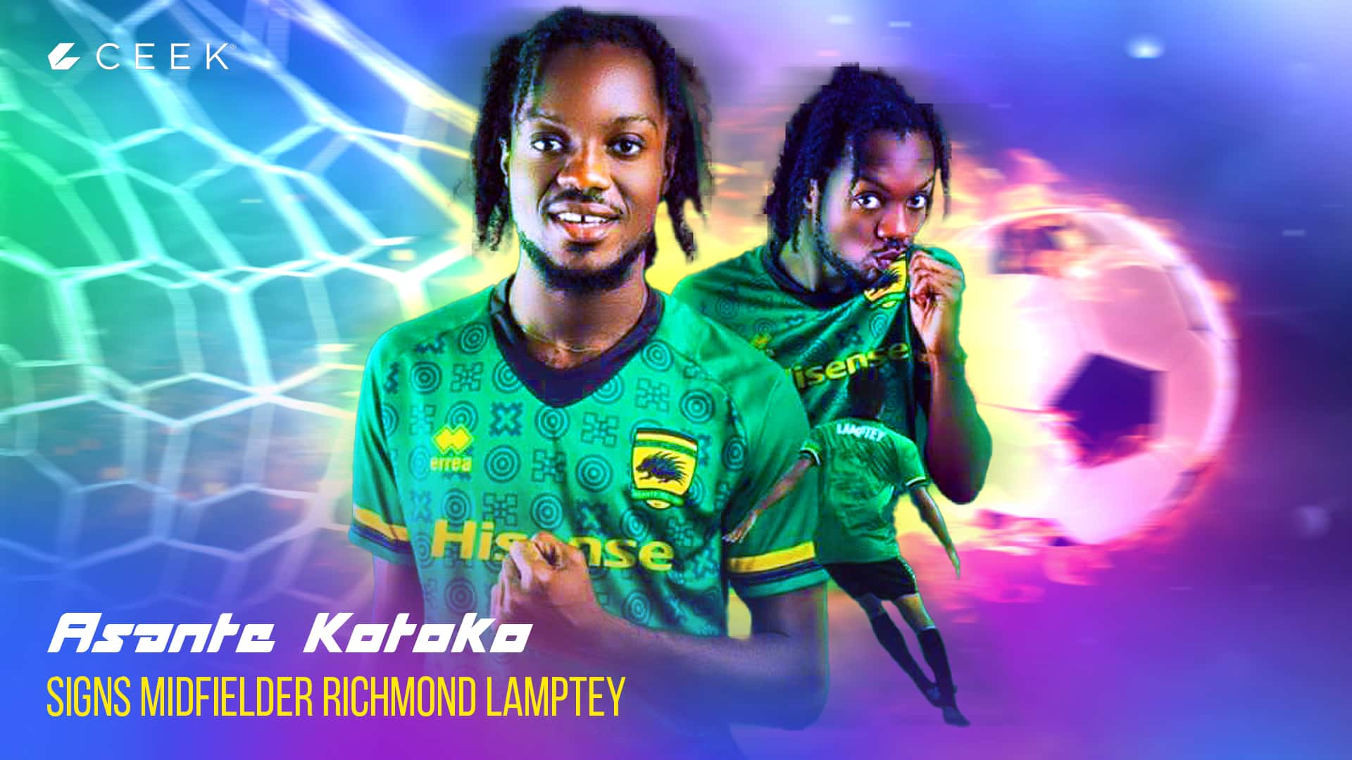 Richmond Lamptey - First Interview ceek.com