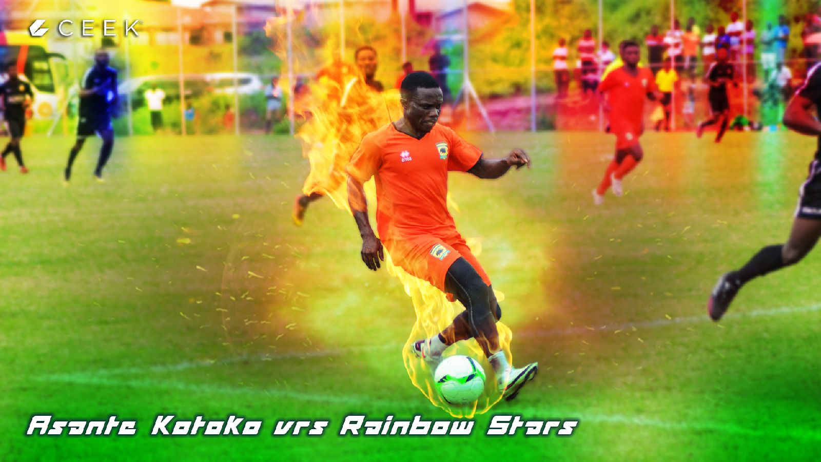 Asante Kotoko vrs Rainbow Stars