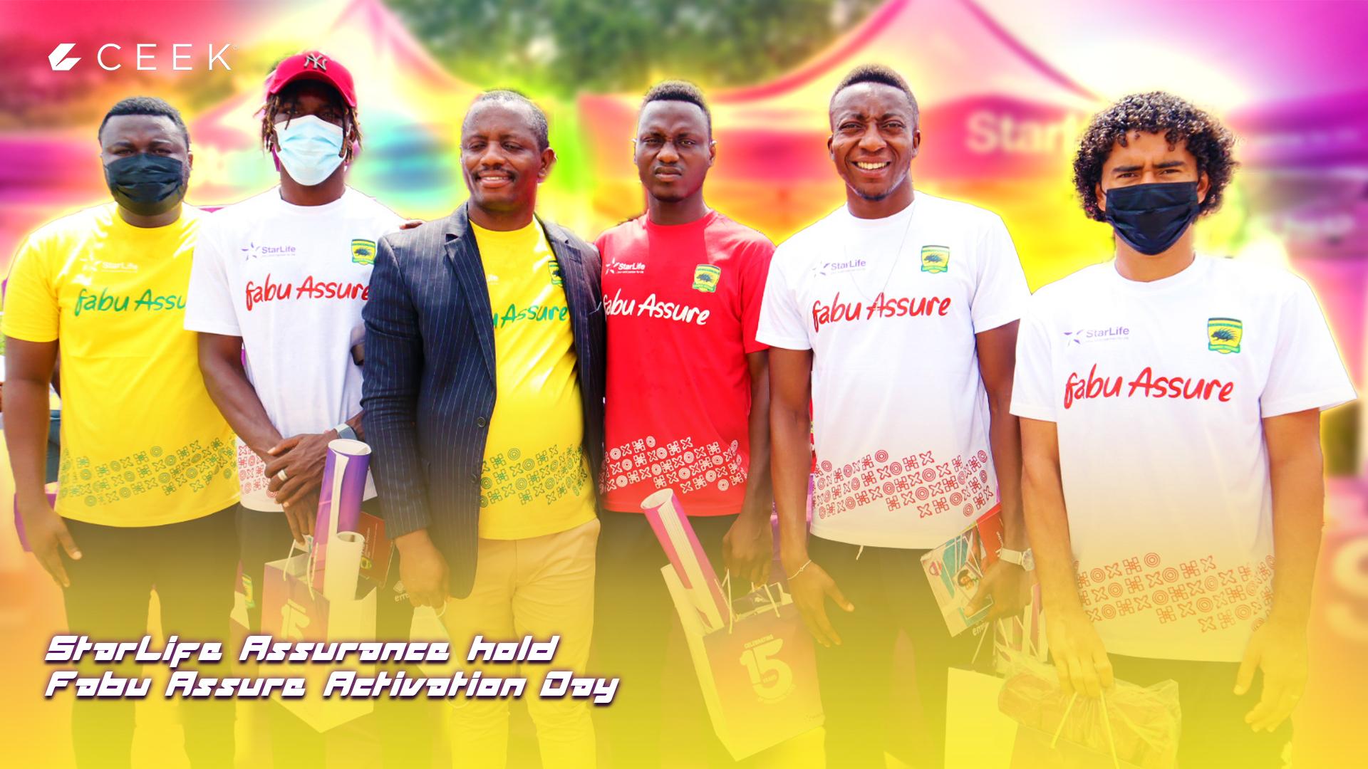 StarLife Assurance hold Fabu Assure Activation Day in Kumasi ceek.com