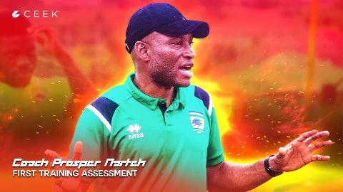 Coach Prosper Narteh First Training Assessment video