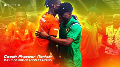 Day 2 of Pre-season training video