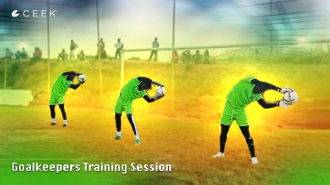 Inside Adako Jachie: Brilliant goalkeepers session video