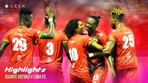 HIGHLIGHTS: Liwa FC 1 vs 1 Kotoko video