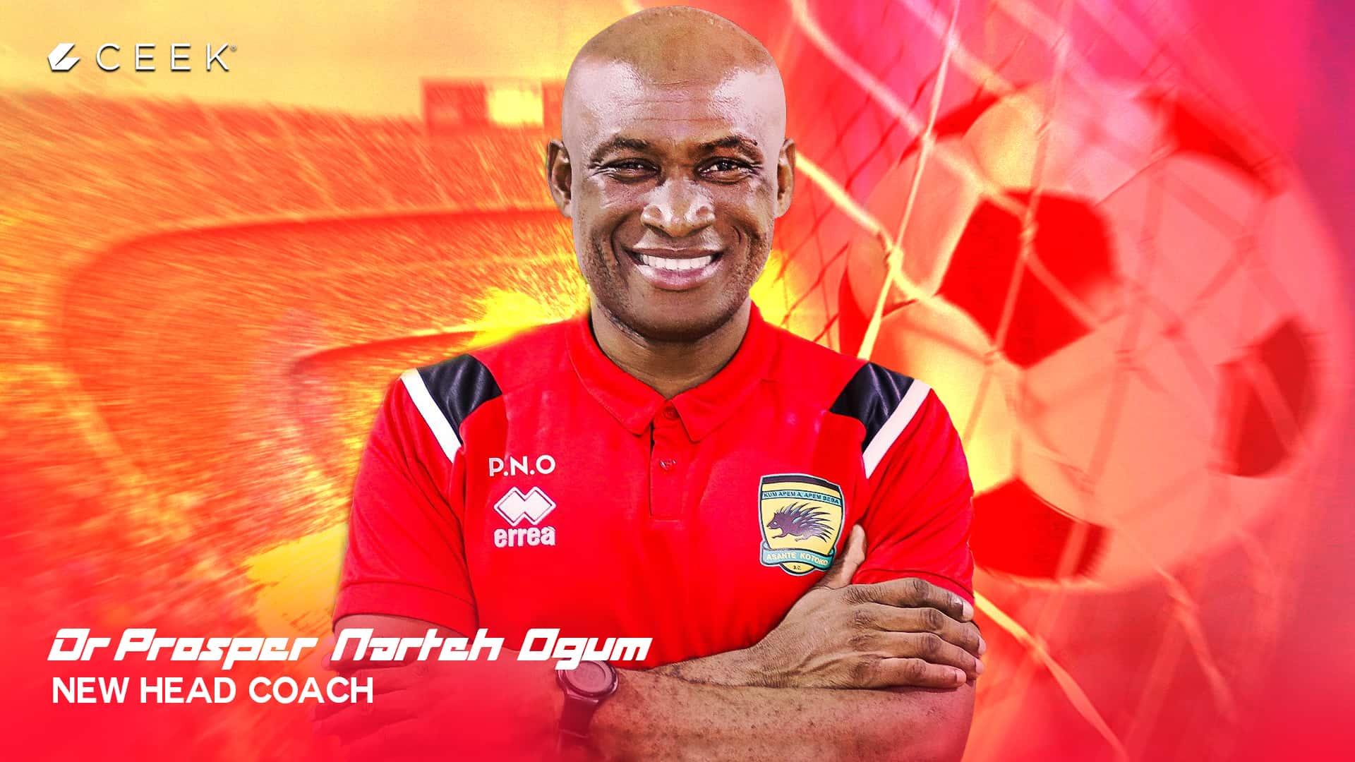 Dr. Prosper Narteh Ogum - New Head Coach Upclose