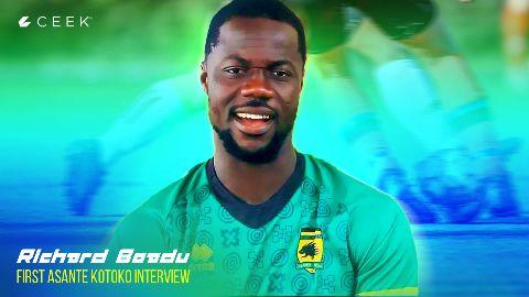 Richard Boadu: First Asante Kotoko interview video