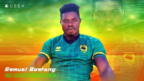 Samuel Boateng: first Asante Kotoko interview video