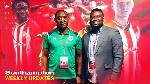 Asante Kotoko visits Southampton F.C: Weekly Diaries video