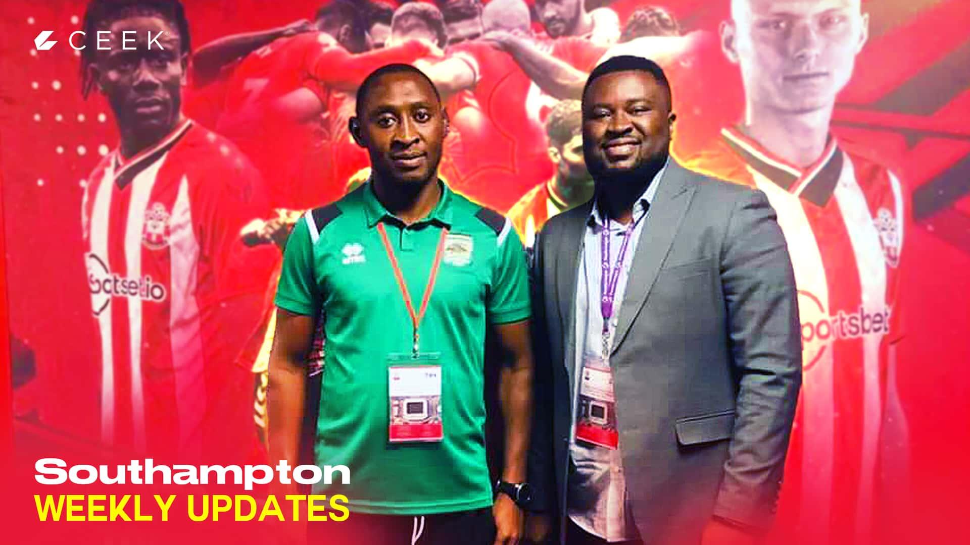Asante Kotoko visits Southampton F.C: Weekly Diaries ceek.com