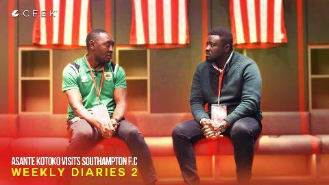 Asante Kotoko visits Southampton F.C: Weekly Diaries 2 video