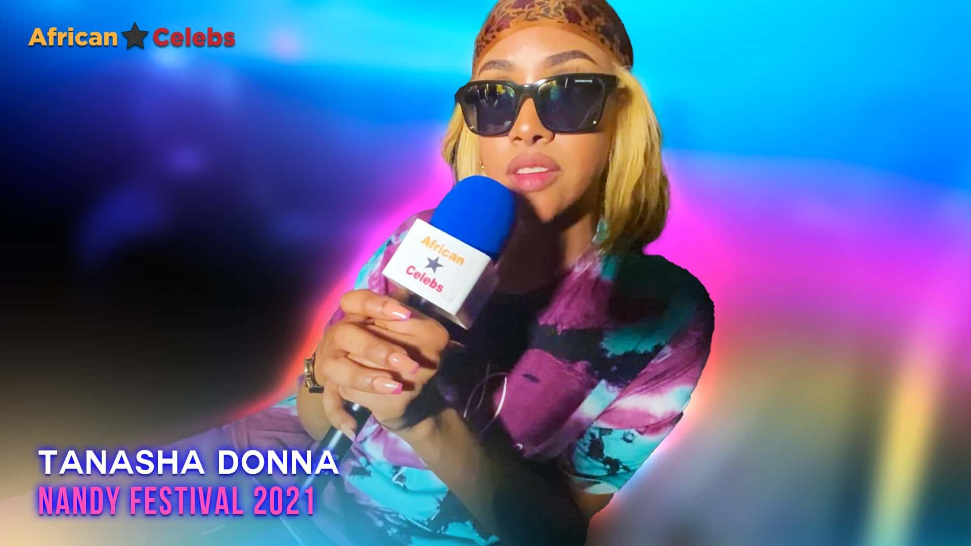Tanasha Donna  Upclose - Nandy Festivals 2021