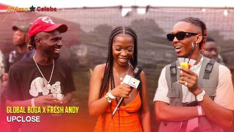 Global Boga x Fresh Andy Upclose video