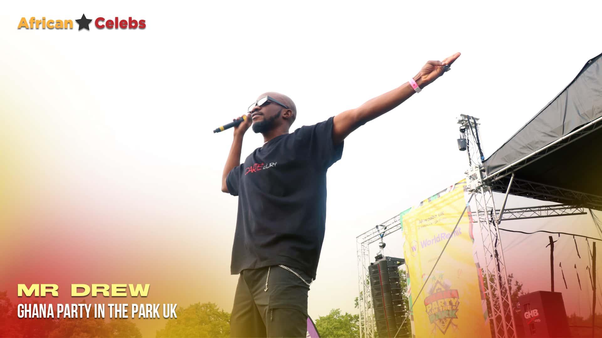 Ghana party in the park -  Mr Drew ceek.com