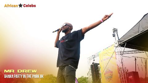 Ghana party in the park -  Mr Drew video