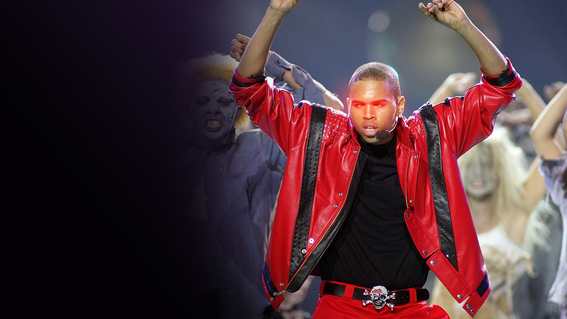"Chris Brown Delivers The Ultimate Michael Jackson ""Thriller"" Tribute"