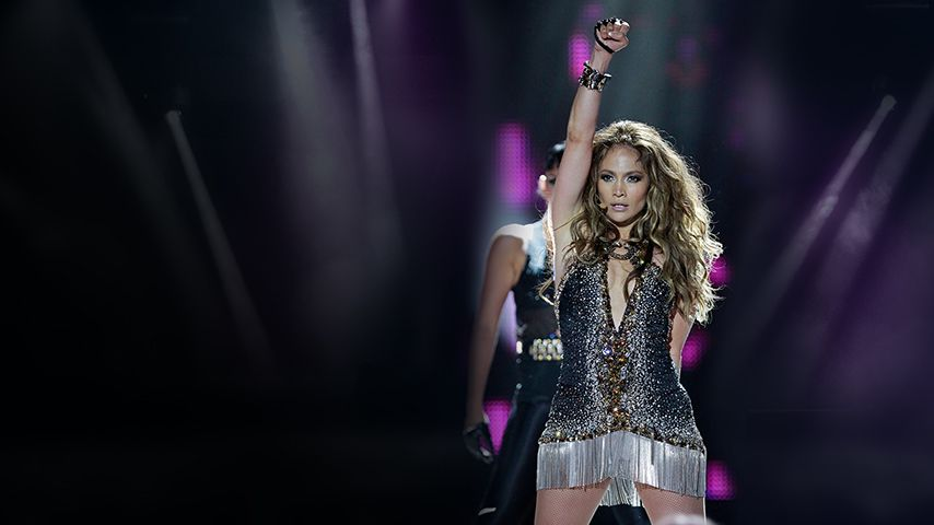 Jennifer Lopez  At The World Music Awards