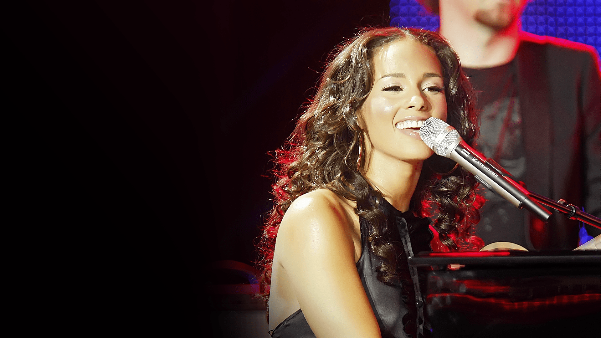 Alicia Keys Performs Live At The World Music Awards