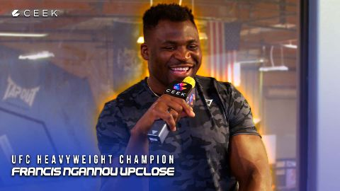 UFC Heavyweight Champion - Upclose video
