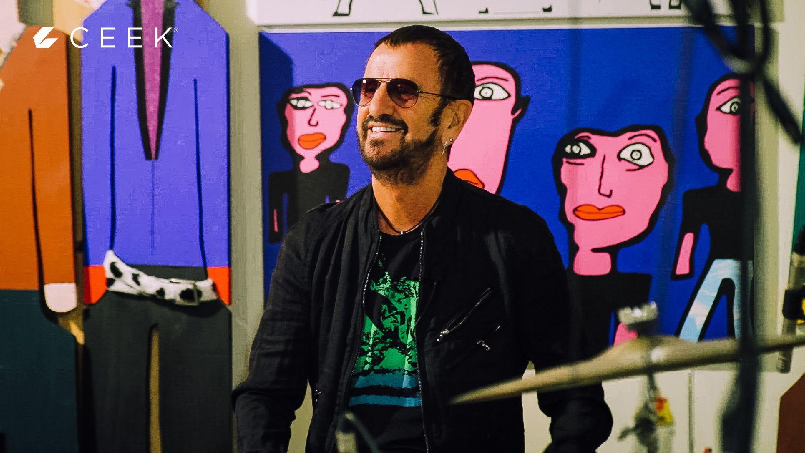 Ringo Starr Upclose