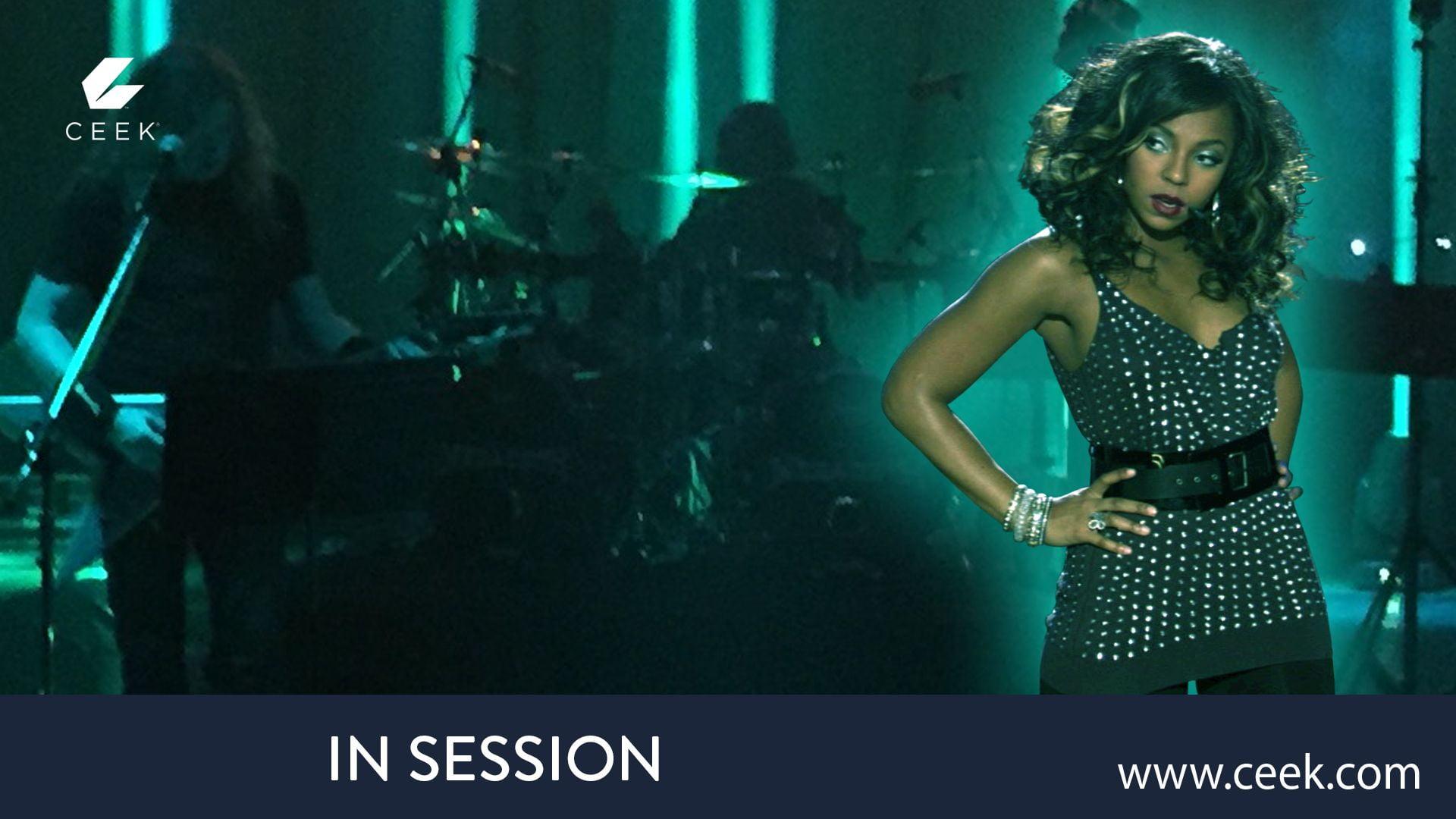 Ashanti -  In Session Soundcheck