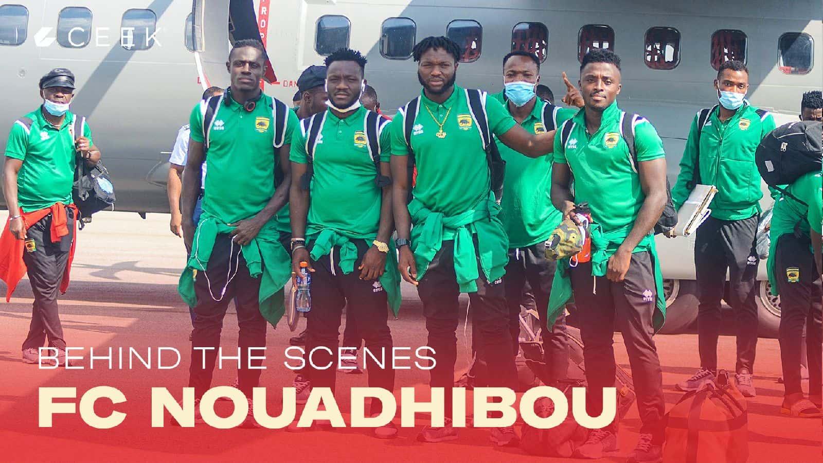 Behind the scenes: FC Nouadhibou V Asante Kotoko 29 November 2020