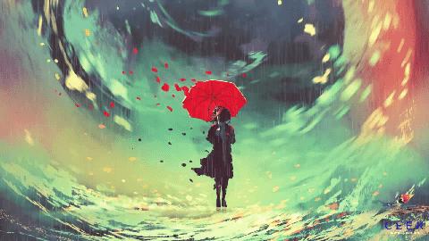 Red Umbrella video