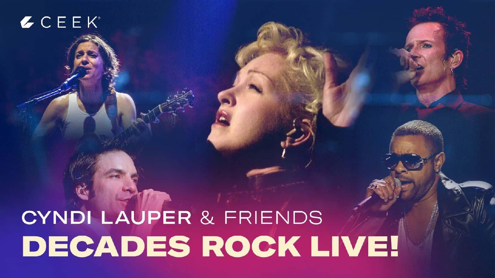 Decades Rock Cyndi Lauper