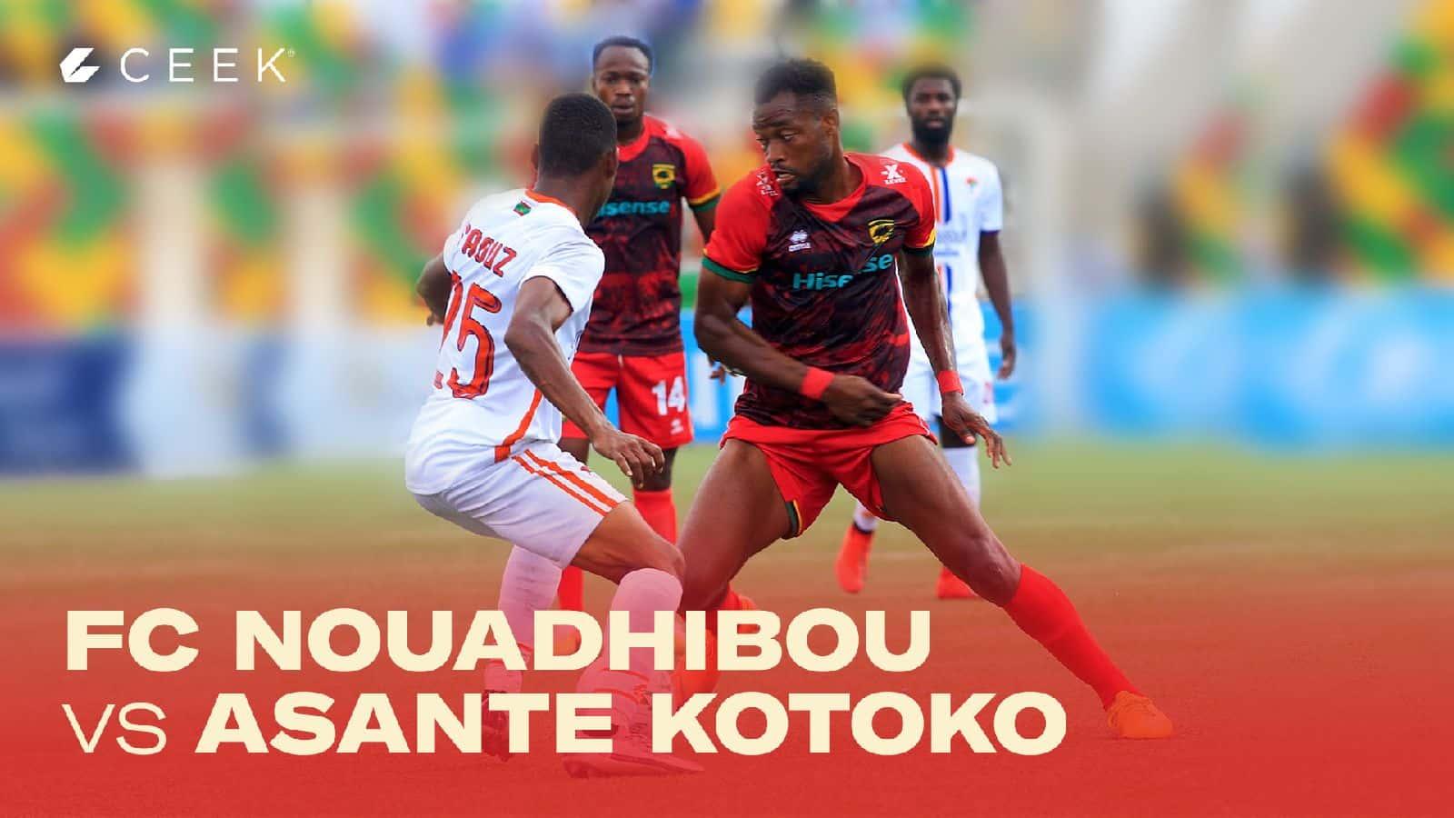 FC Nouadhibou v Asante Kotoko 29 November 2020