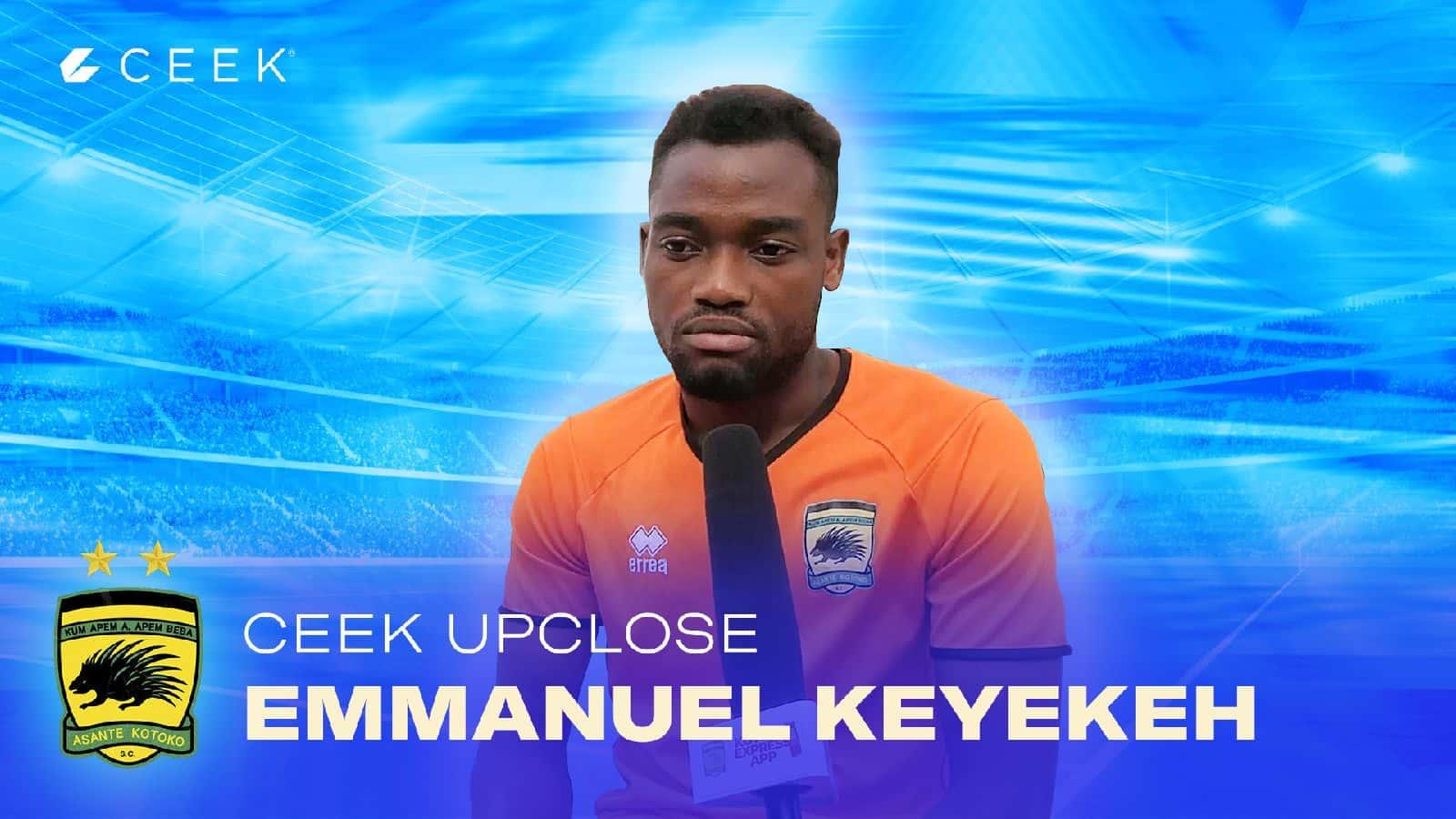 Emmanuel Keyekeh plays down FC Nouadhibou threat