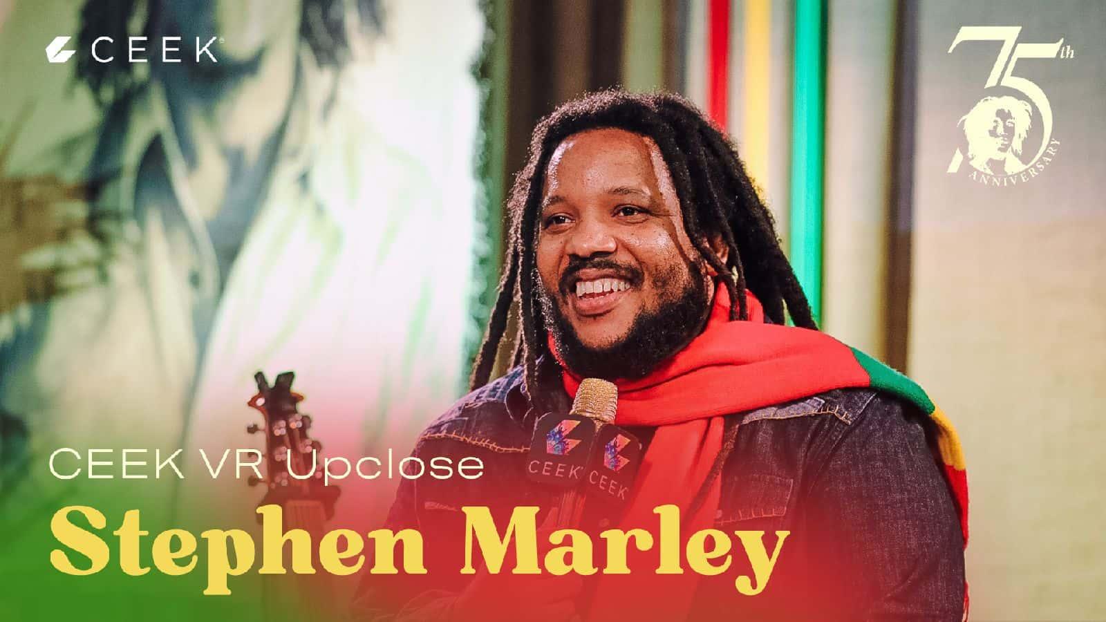 Stephen Marley Upclose