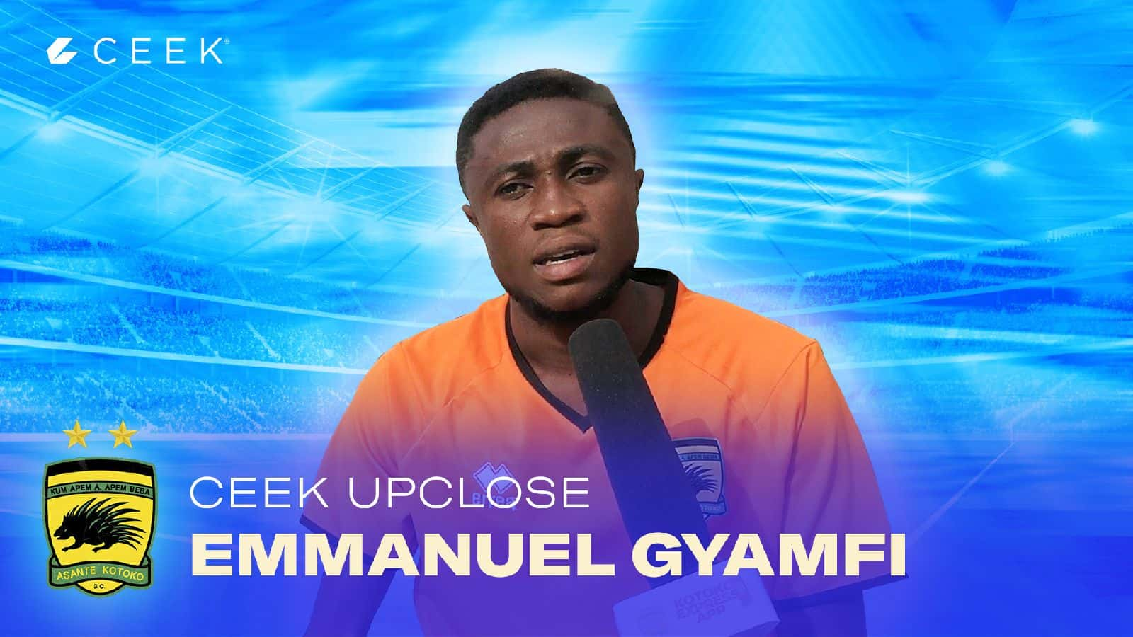 Emmanuel Gyamfi We have quality players and we can overcome them