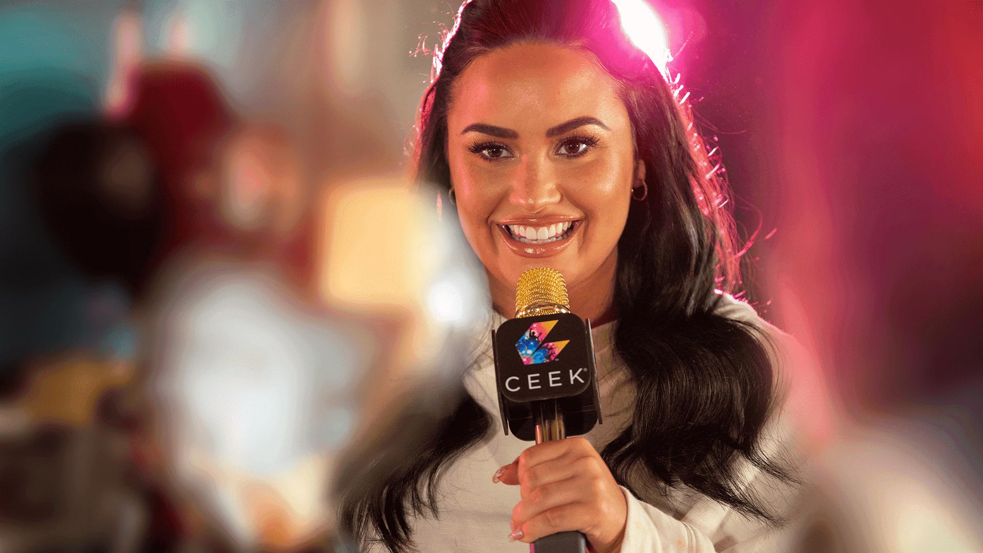 Demi Lovato Upclose