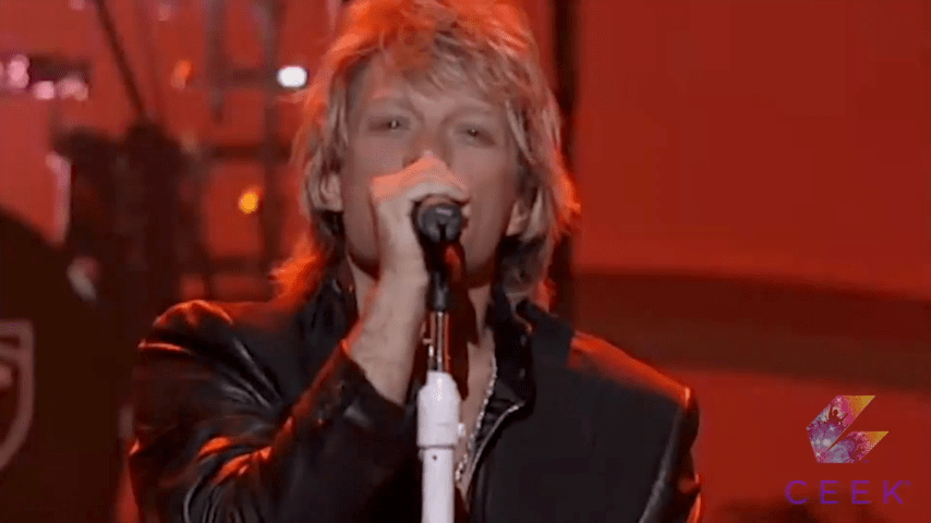 Bon Jovi Performs Have A Nice Day At The World Music Awards