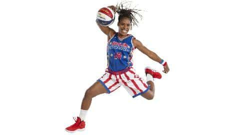 Ball Spin Trick: Harlem Globetrotter, TNT Lister teaches the spin the ball (on your finger) trick! video