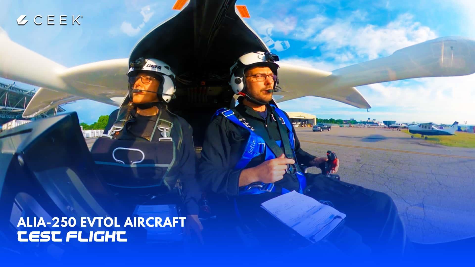 Alia-250  eVTOL Aircraft Test Flight