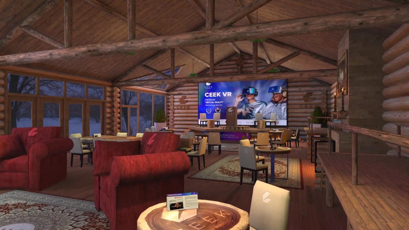 CEEK Virtual Conference Centre - Log cabin
